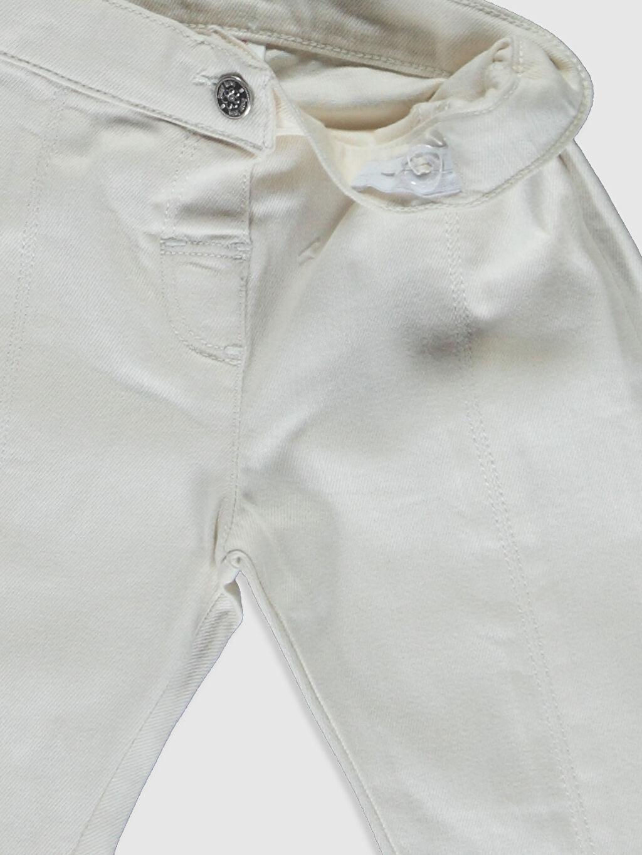 Kız Bebek Kız Bebek Pamuklu Pantolon