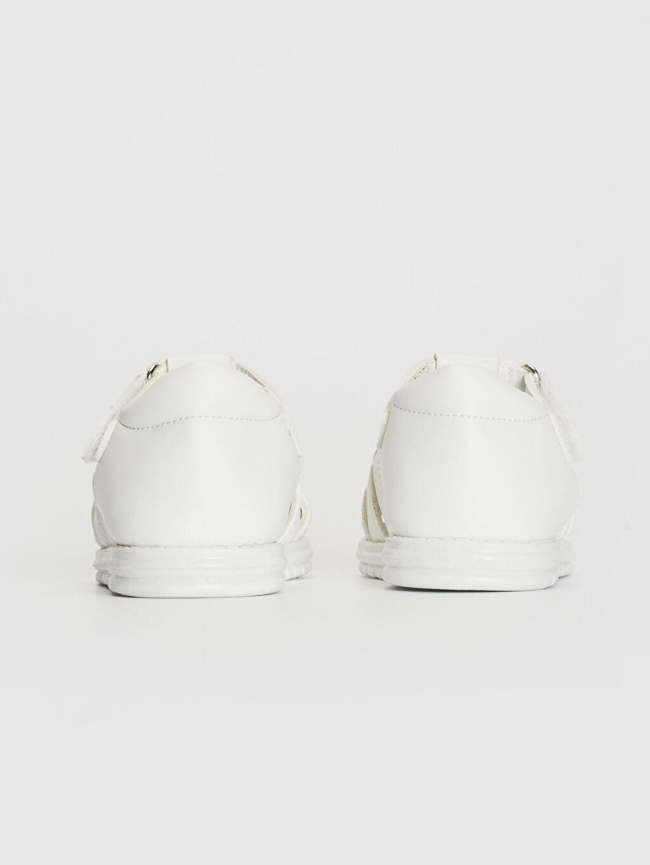 Kız Bebek Cırt Cırtlı Sandalet