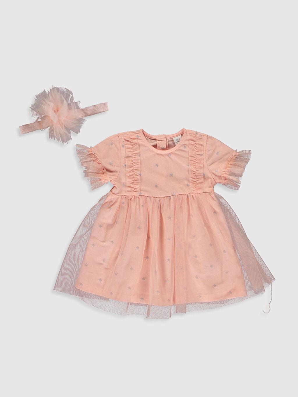Pembe Kız Bebek Elbise ve Taç 0SN781Z1 LC Waikiki