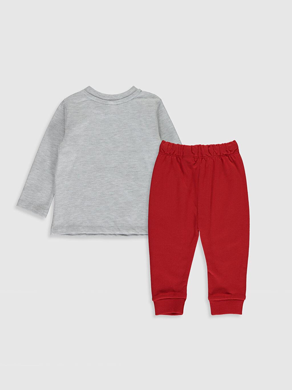 %67 Pamuk %33 Polyester %85 Pamuk %15 Polyester  Erkek Bebek Aslan Kral Tişört ve Pantolon