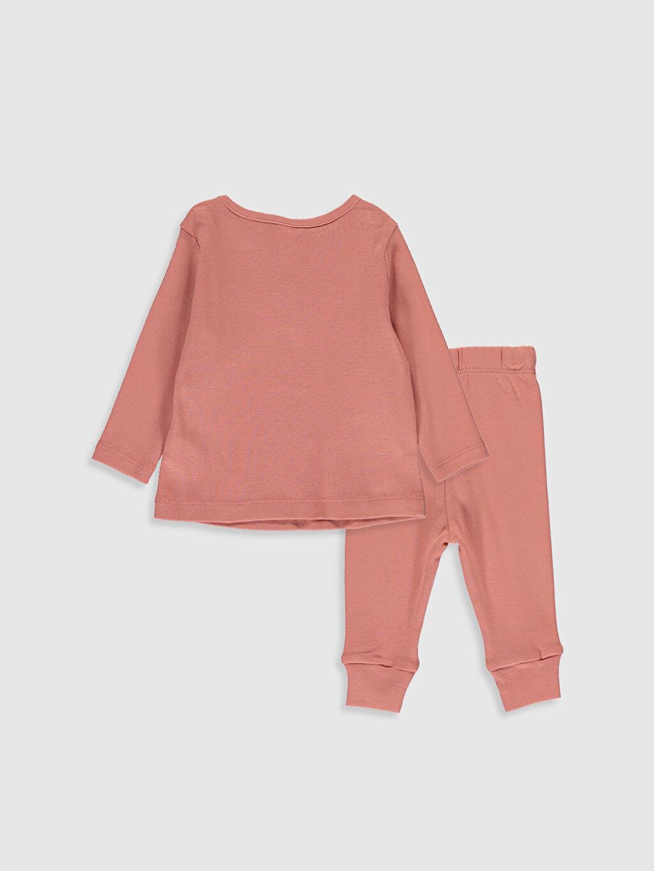 %100 Pamuk %100 Pamuk Standart Pijamalar Kız Bebek Pamuklu Pijama Takımı