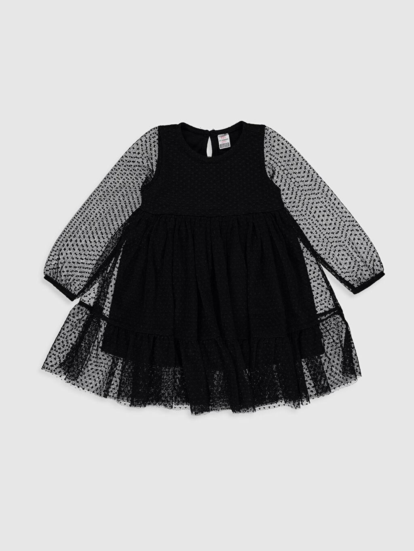 Siyah Kız Bebek Tül Elbise 0SA315Z1 LC Waikiki