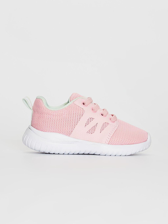 Pembe Kız Bebek Bağcıklı Aktif Spor Ayakkabı 0SA323Z1 LC Waikiki