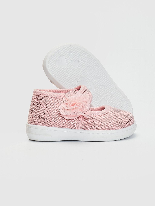 Kız Bebek Kız Bebek Cırt Cırtlı Babet Ayakkabı
