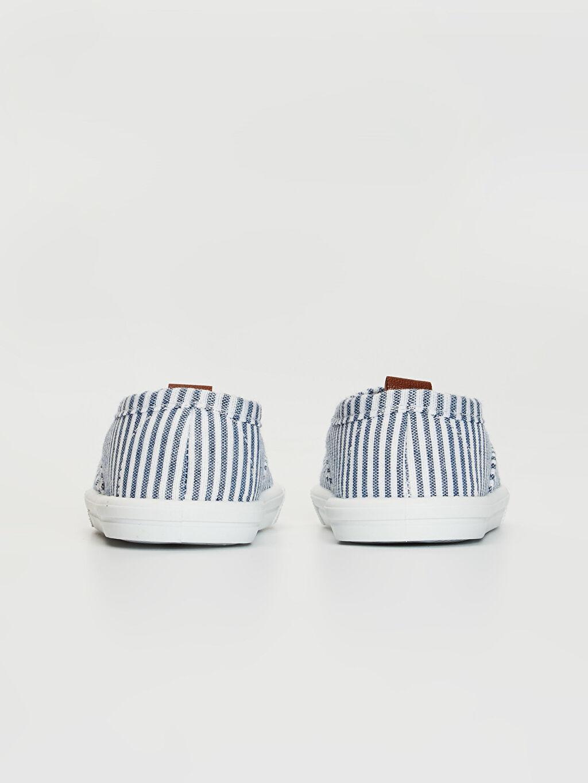 Erkek Bebek Çizgili Günlük Ayakkabı