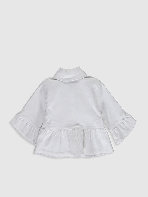 %98 Pamuk %2 Elastan Ceket Kız Bebek Ceket