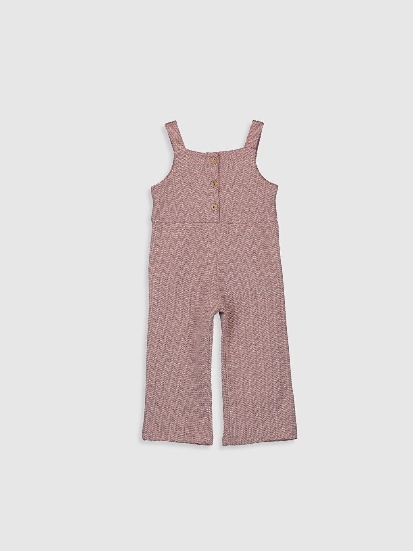Pembe Kız Bebek Pantolon Salopet 0SC267Z1 LC Waikiki