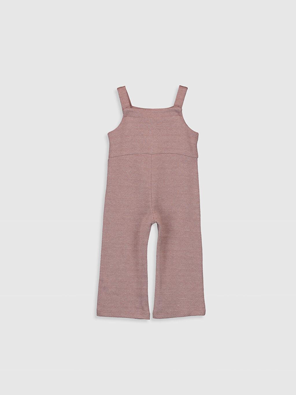 %55 Pamuk %45 Polyester  Kız Bebek Pantolon Salopet