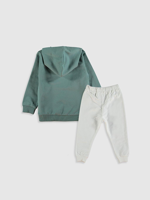 Erkek Bebek Erkek Bebek Sweatshirt ve Eşofman Alt 2'li
