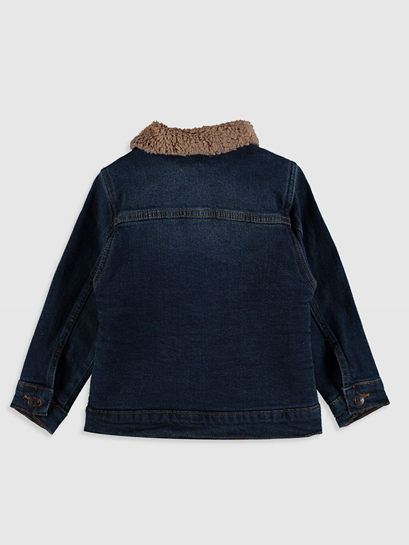 %99 Pamuk %1 Elastan %100 Polyester Ceket Erkek Bebek Jean Ceket