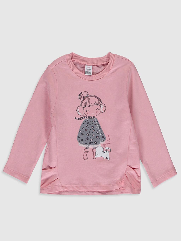 Kız Bebek Kız Bebek Desenli Tişört ve Pantolon