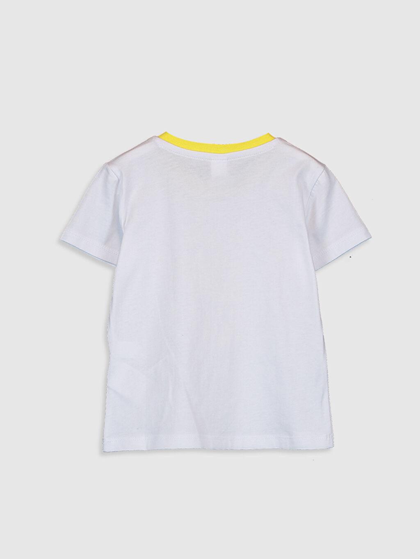 %100 Pamuk Normal Baskılı Kısa Kol Tişört Erkek Bebek Slogan Yazı Baskılı Tişört
