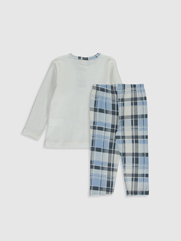 Pijamalar Luggi Baby Erkek Bebek Desenli Pijama Takımı