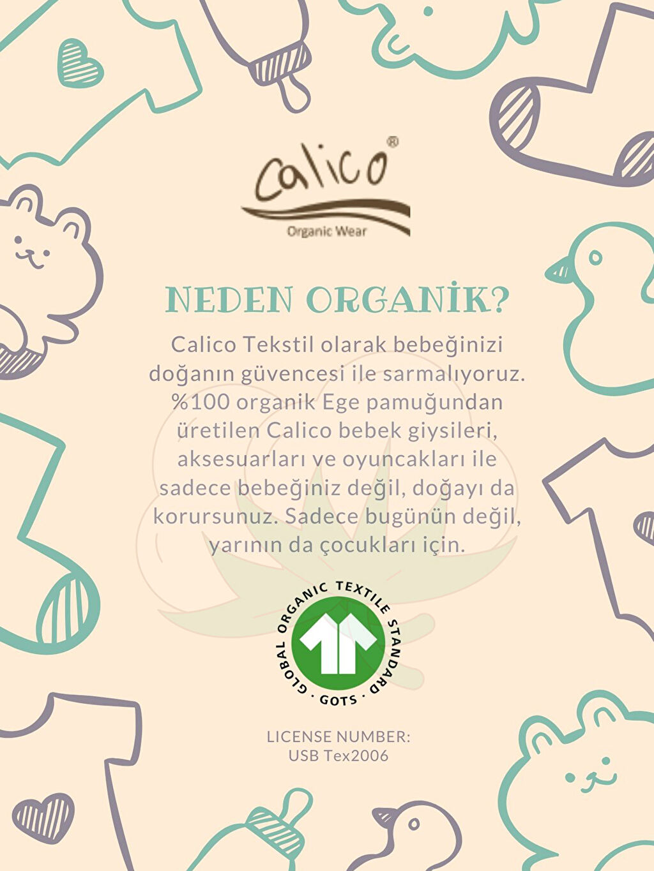 Calico Organik Pamuklu Baskılı Takım 3'lü