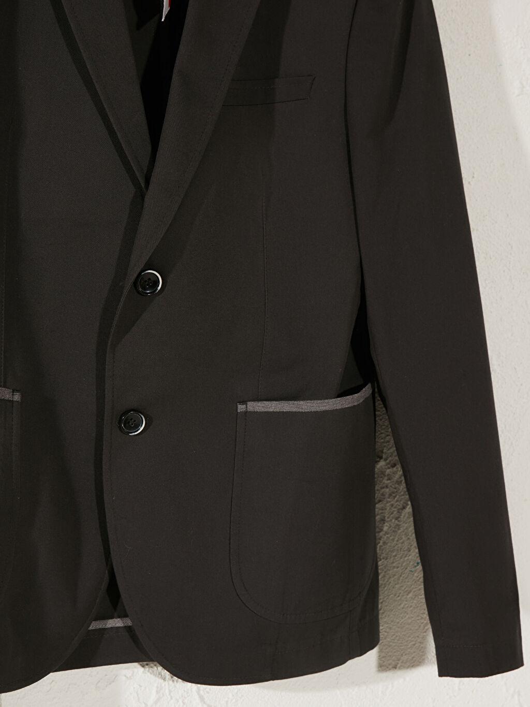 %100 Pamuk Standart Kalıp Blazer Ceket