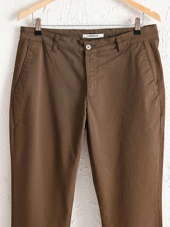 LC Waikiki Haki Slim Fit Gabardin Chino Pantolon