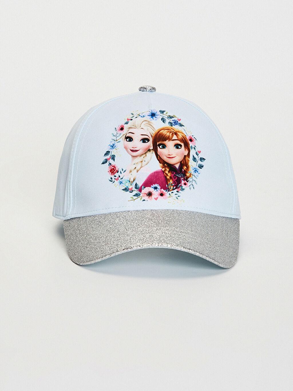 %100 Polyester %100 Polyester Frozen Şapka Kep Astarsız Kız Çocuk Frozen Lisanslı Şapka