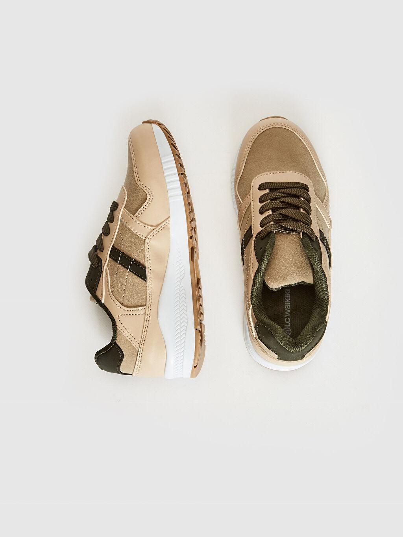 Diğer malzeme (pvc) Sneaker Bağcık Işıksız Erkek Çocuk Bağcıklı Günlük Spor Ayakkabı