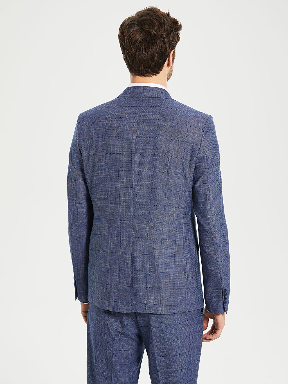 0S7810Z8 Dar Kalıp Takım Elbise Ceketi