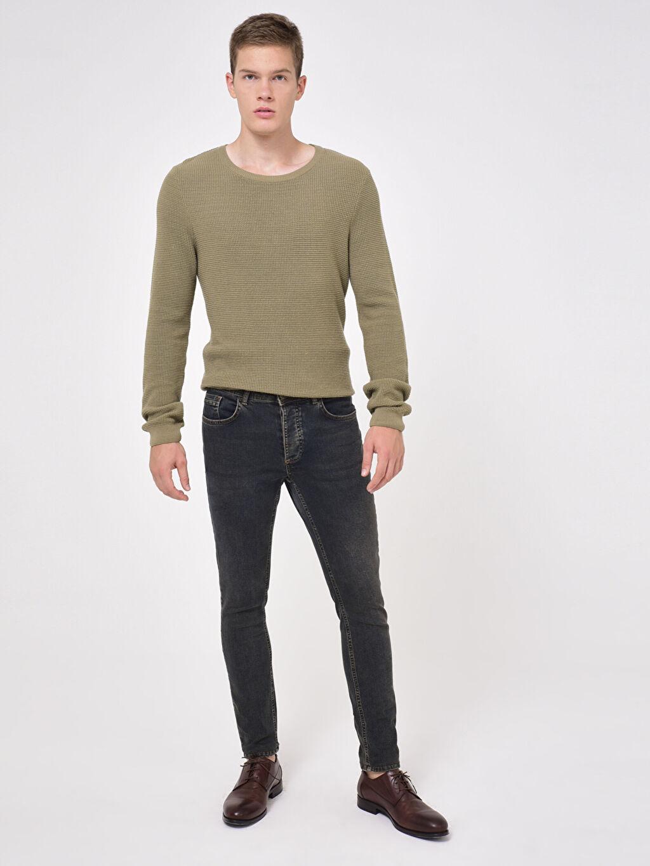 %99 Pamuk %1 Elastan 760 Skinny Fit Jean Pantolon