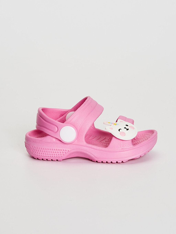 Pembe Kız Bebek Sandalet 0SK197Z1 LC Waikiki