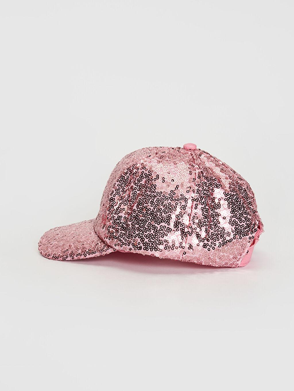 Kız Çocuk Kız Çocuk Payetli Şapka