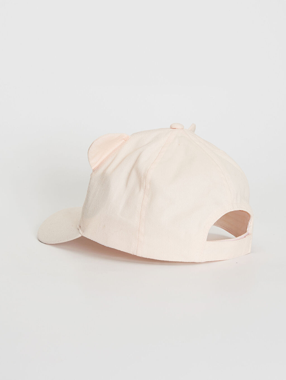 Kız Çocuk Kız Çocuk Nakış Detaylı Ter Bantlı Şapka