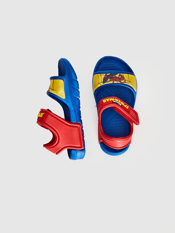 Erkek Bebek Erkek Bebek Spiderman Lisanslı Cırt Cırtlı Sandalet