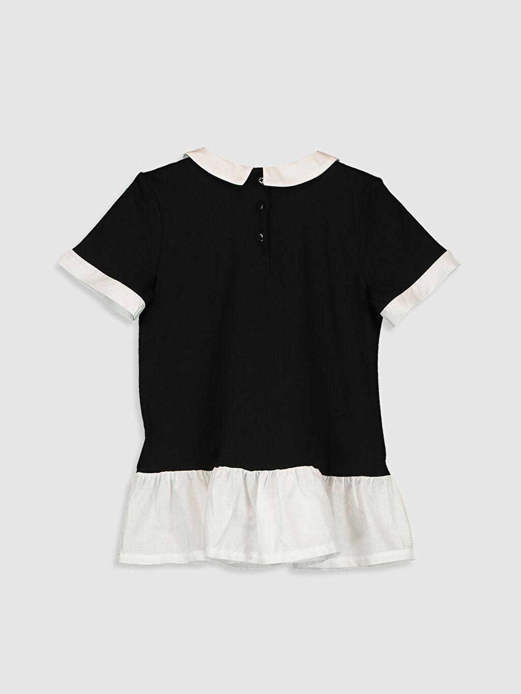 %100 Pamuk %100 Pamuk Penye Standart Baskılı Tişört Kısa Kol Diğer İnce Kız Çocuk Baskılı Pamuklu Tişört