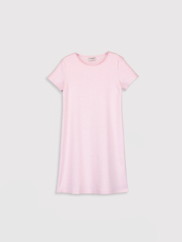 Pembe Kız Çocuk Basic Elbise 0SB762Z4 LC Waikiki