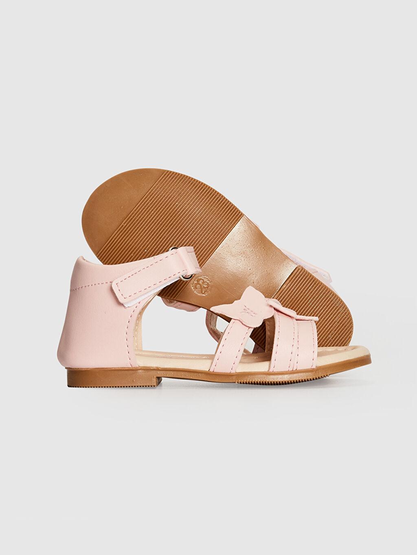 Kız Bebek Kız Bebek Çapraz Bant Detaylı Sandalet