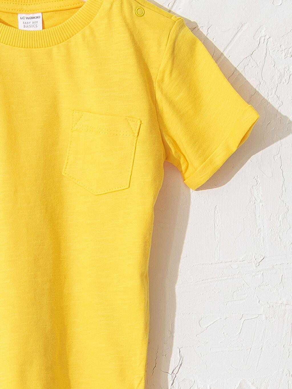 Erkek Bebek Erkek Bebek Pamuklu Basic Tişört