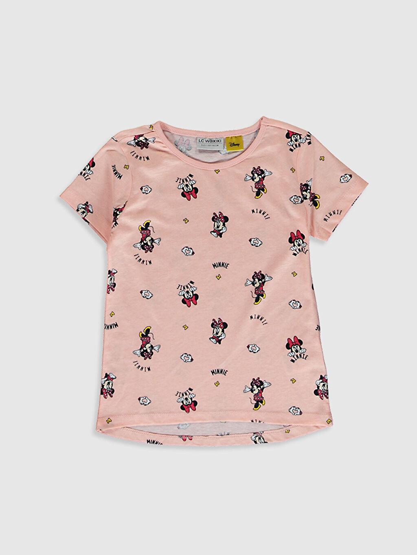 Kız Çocuk Kız Çocuk Minnie Mouse Baskılı Tişört 2'Li