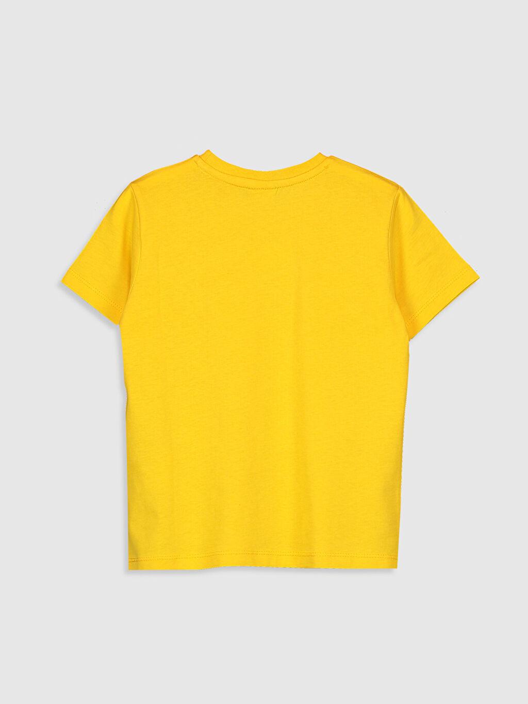 %100 Pamuk %100 Pamuk Standart Baskılı Tişört Bisiklet Yaka Kısa Kol Erkek Çocuk Baskılı Pamuklu Tişört