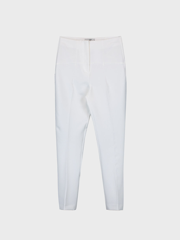 Bilek Boy Havuç Kumaş Pantolon