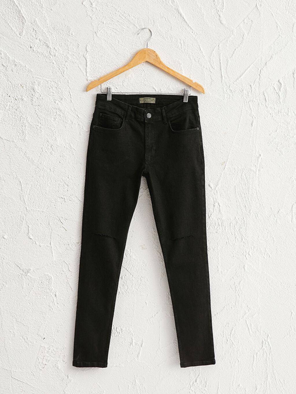 Siyah 750 Slim Fit Jean Pantolon 0SR554Z8 LC Waikiki