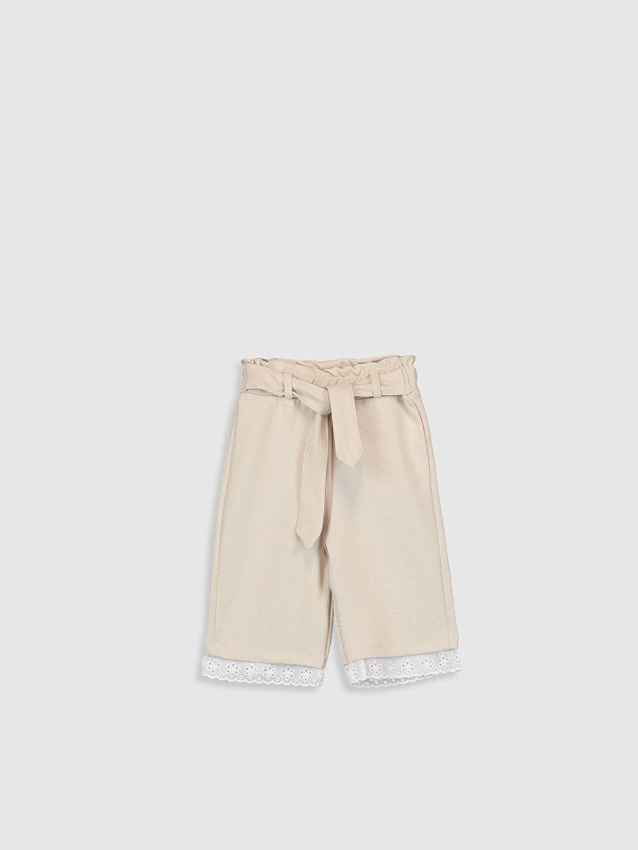 Bej Kız Bebek Pantolon 0SR765Z1 LC Waikiki