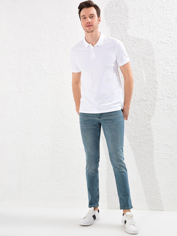 Erkek 750 Slim Fit Jean Pantolon