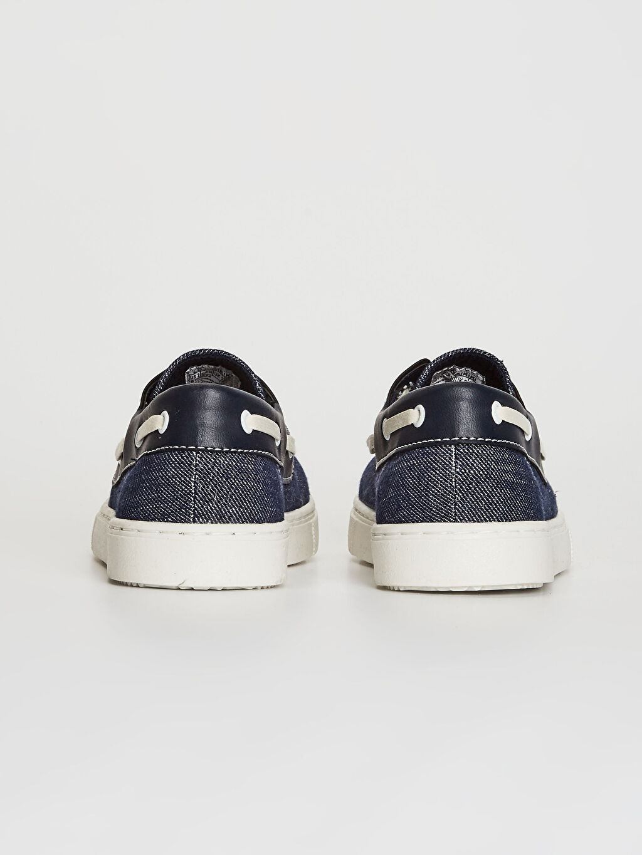 Erkek Çocuk Bağcıklı Klasik Bez Ayakkabı
