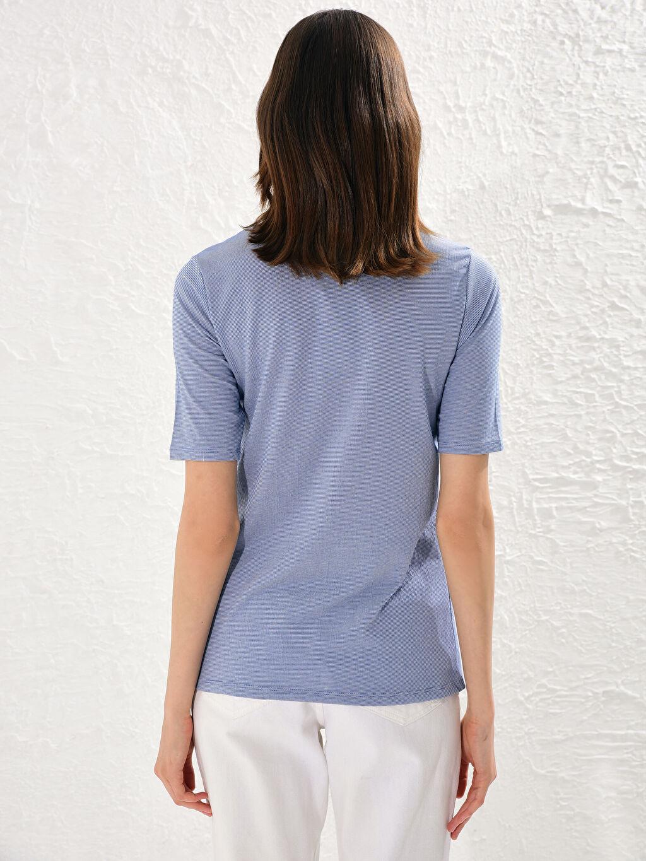 Kadın İşlemeli Süprem Tişört