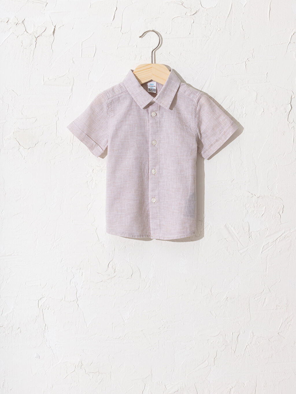 Kahverengi Erkek Bebek Gömlek 0SU898Z1 LC Waikiki