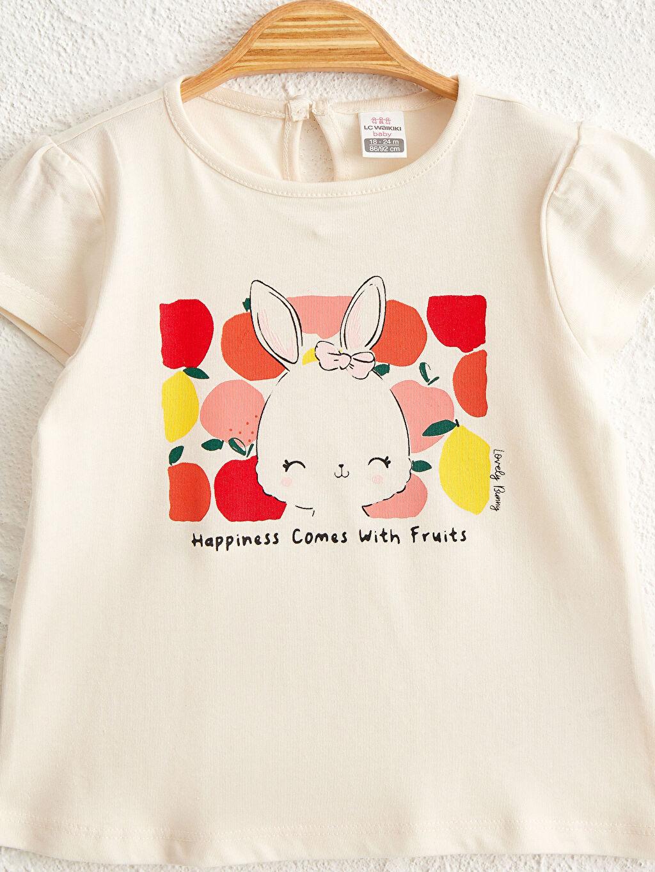 Kız Bebek Kız Bebek Baskılı Tişört