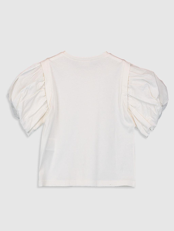 %100 Pamuk %100 Pamuk Penye İnce Tişört Bisiklet Yaka Düz Kız Çocuk Pamuklu Basic Tişört