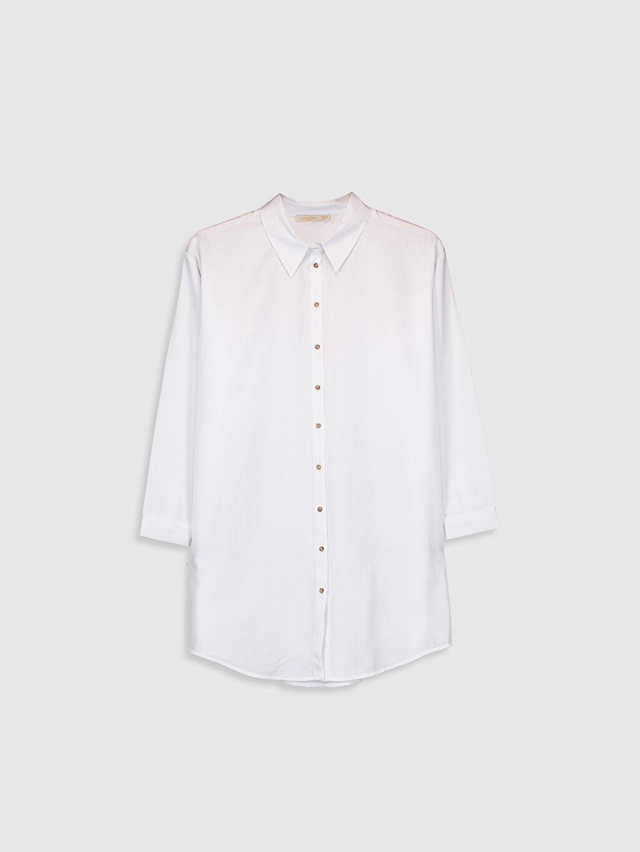 Beyaz Allday Oversize Gömlek 0SAJ89Z8 LC Waikiki