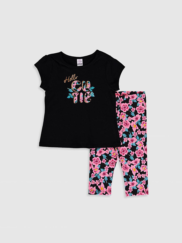Siyah Kız Bebek Takım 2'Li 0SAQ59Z1 LC Waikiki