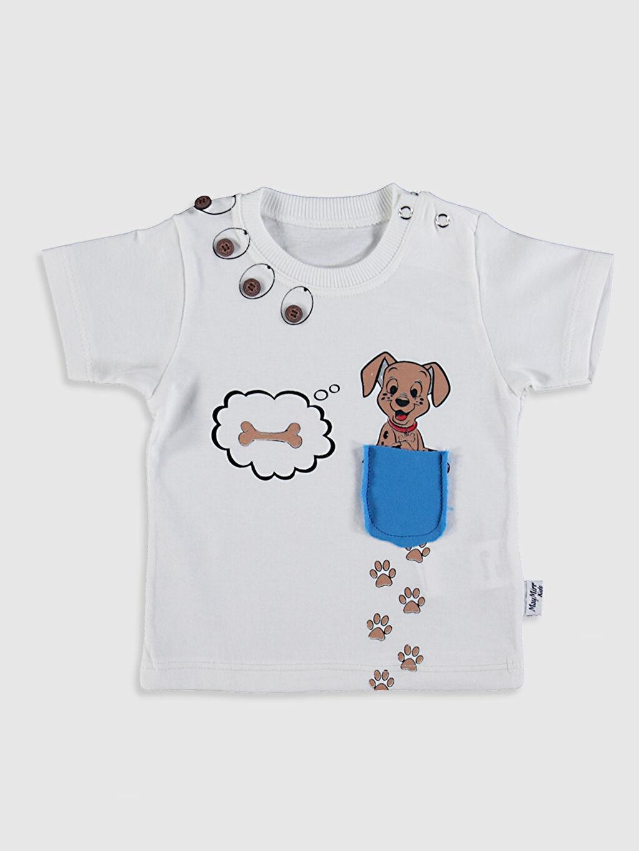 Erkek Bebek By Leyal For Kids Yenidoğan Pamuklu Takım 3'lü