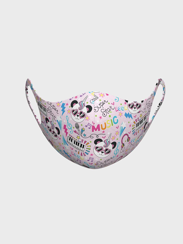 Çok Renkli 8-14 Yaş Kız Çocuk Yıkanabilir Yüz Maskesi 0SAU47Z4 LC Waikiki