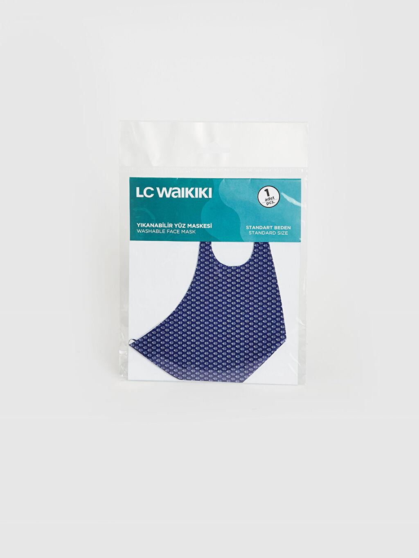 %95 Polyester %5 Elastan Maske Dalgıç Kumaşı Yıkanabilir Yüz Maskesi