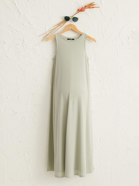 Yeşil Salaş Hamile Elbise 0SBD41Z8 LC Waikiki