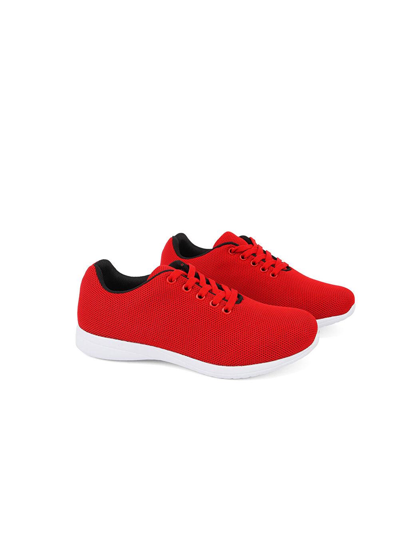 Kırmızı Letoon Kadın Günlük Ayakkabı 0SBL22Z8 LC Waikiki